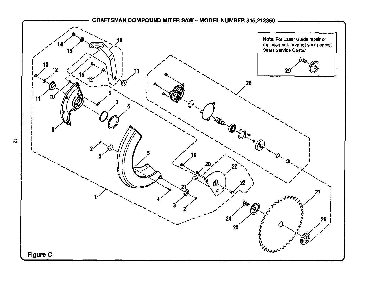 Craftsman 315212350 User Manual 12 COMPOUND MITER SAW