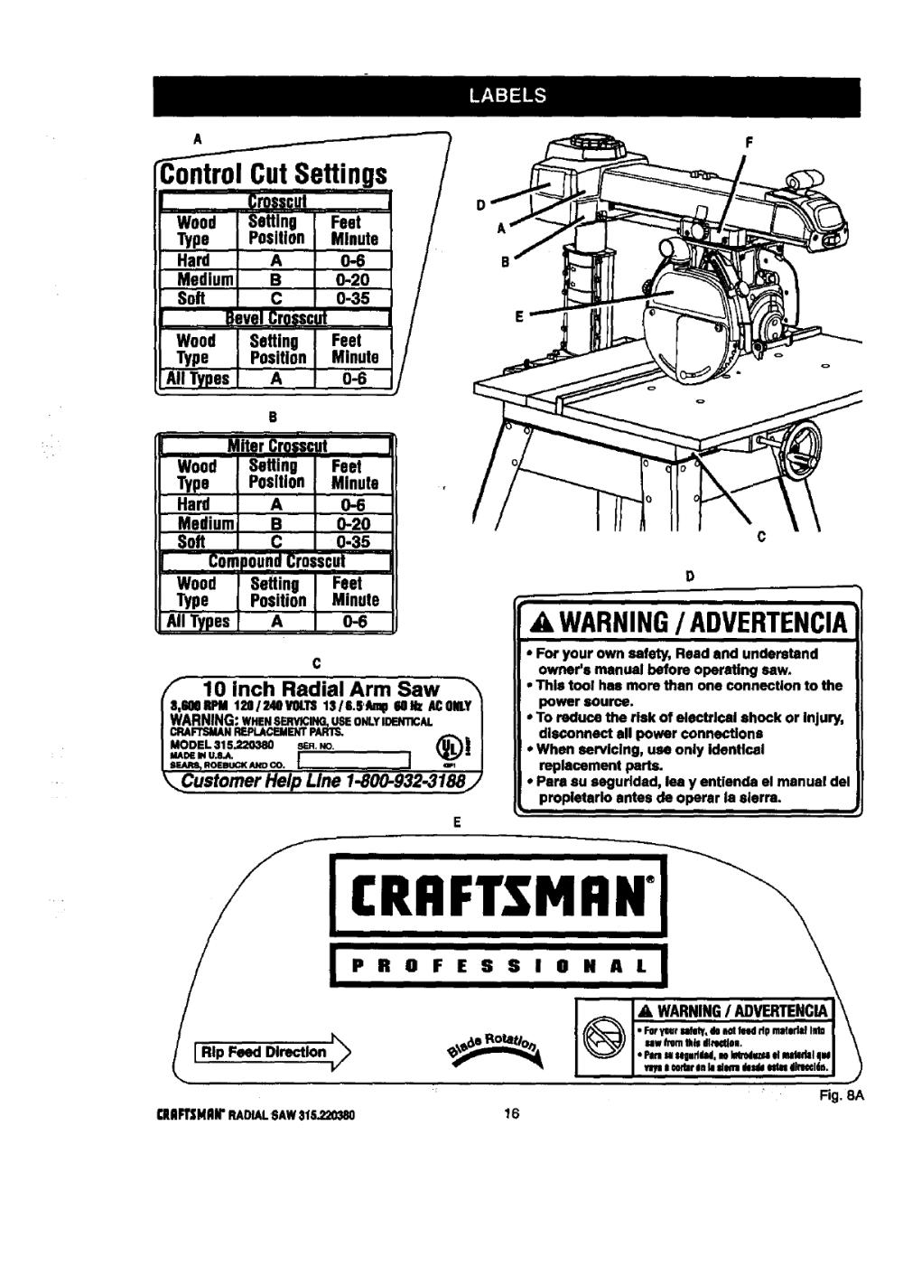medium resolution of craftsman radial arm saw wiring diagram free picture wiring library rh 99 mac happen de craftsman