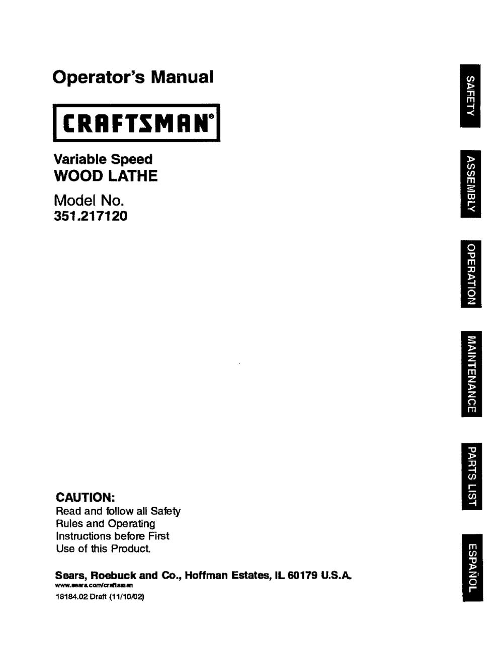 medium resolution of craftsman lathe wiring diagram