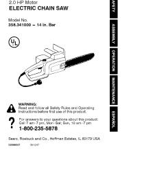 craftsman chainsaw wiring diagram [ 1030 x 1458 Pixel ]