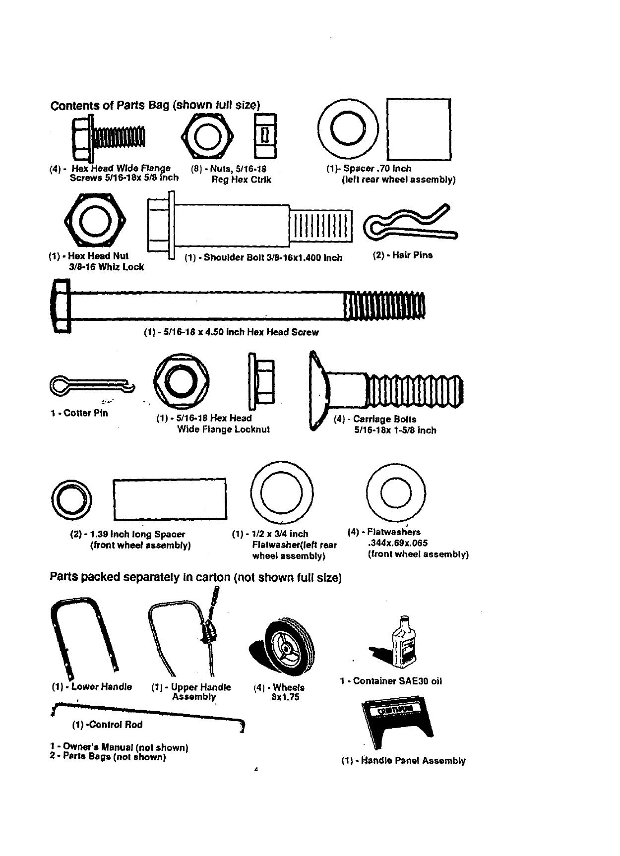 Craftsman 536797480 User Manual 3.8 HP 9 EDGER/TRIMMER