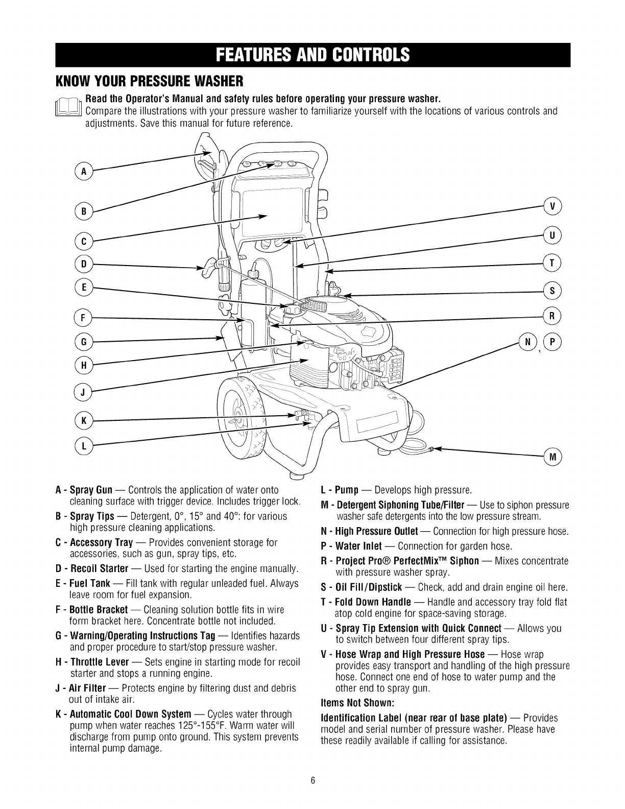 Craftsman 580752192 User Manual PRESSURE WASHER Manuals