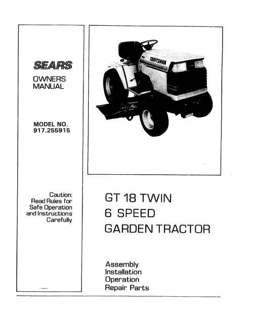 small resolution of wiring diagram sears gt18 wiring diagram list wiring diagram sears gt18