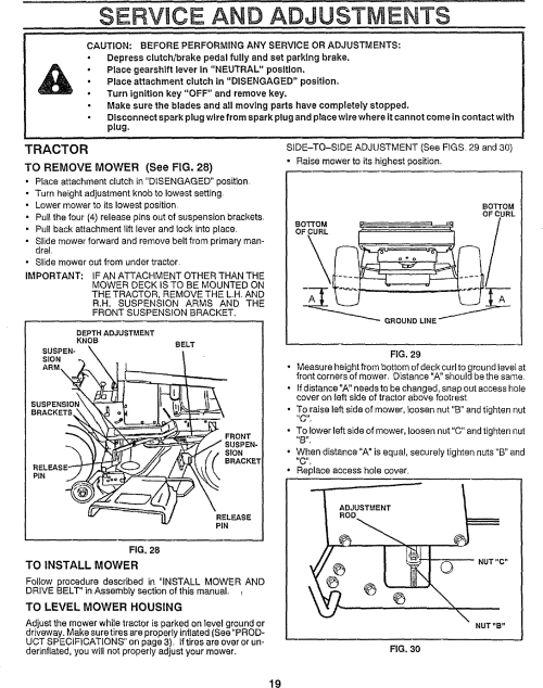 small resolution of craftsman 917255950 user manual lawn tractor manuals and guides l0807089