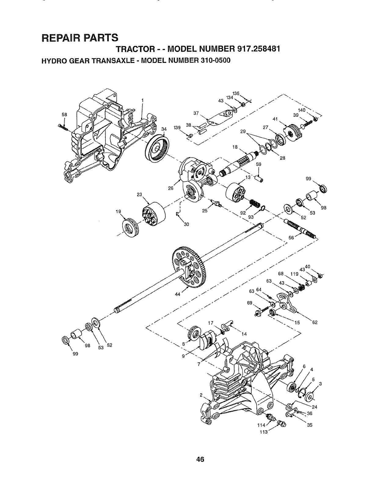 Craftsman 917258481 User Manual TRACTOR Manuals And Guides