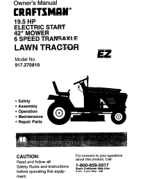 old craftsman riding lawn mower 1 2 hp wiring diagram [ 1220 x 1584 Pixel ]