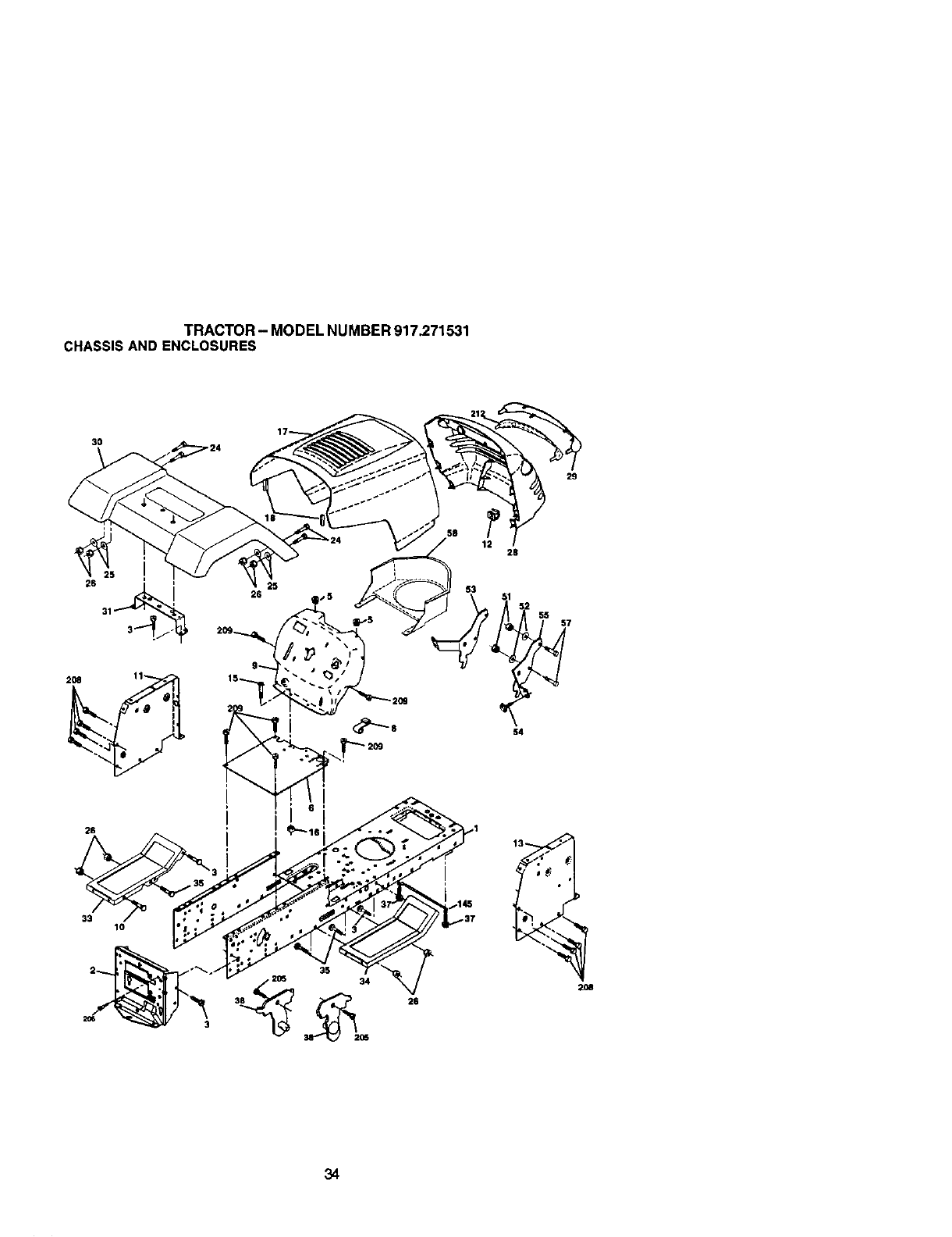 Tractor modelnumber917 271531