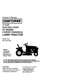 craftsman 917271732 user manual lawn tractor manuals and guides l0102267 [ 1232 x 1592 Pixel ]