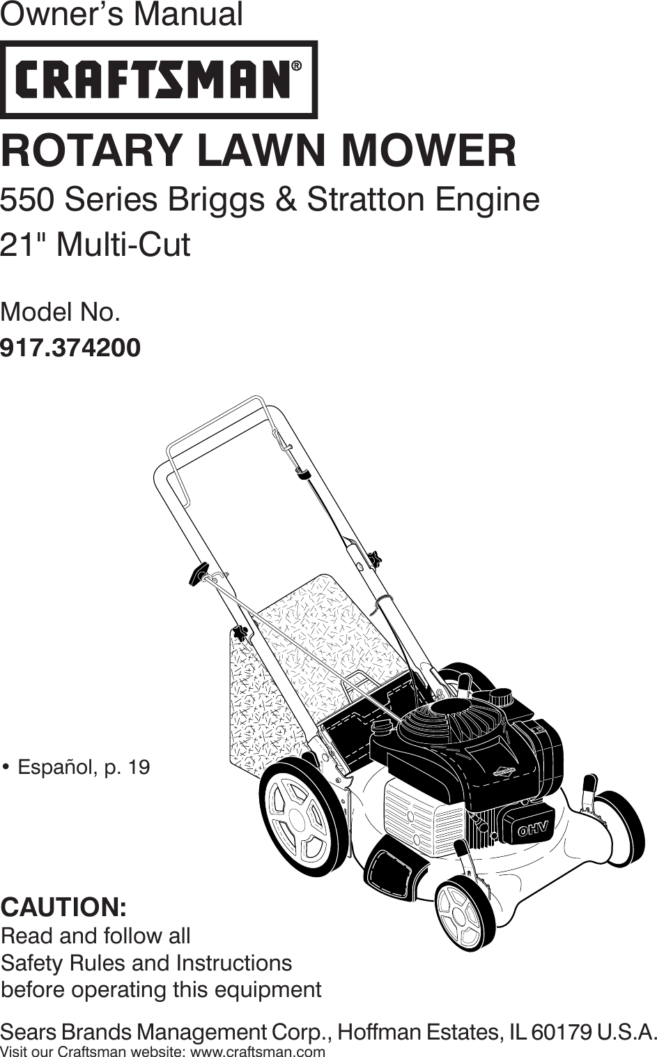 Craftsman 917374200 374200 es 115870296_r0 User Manual