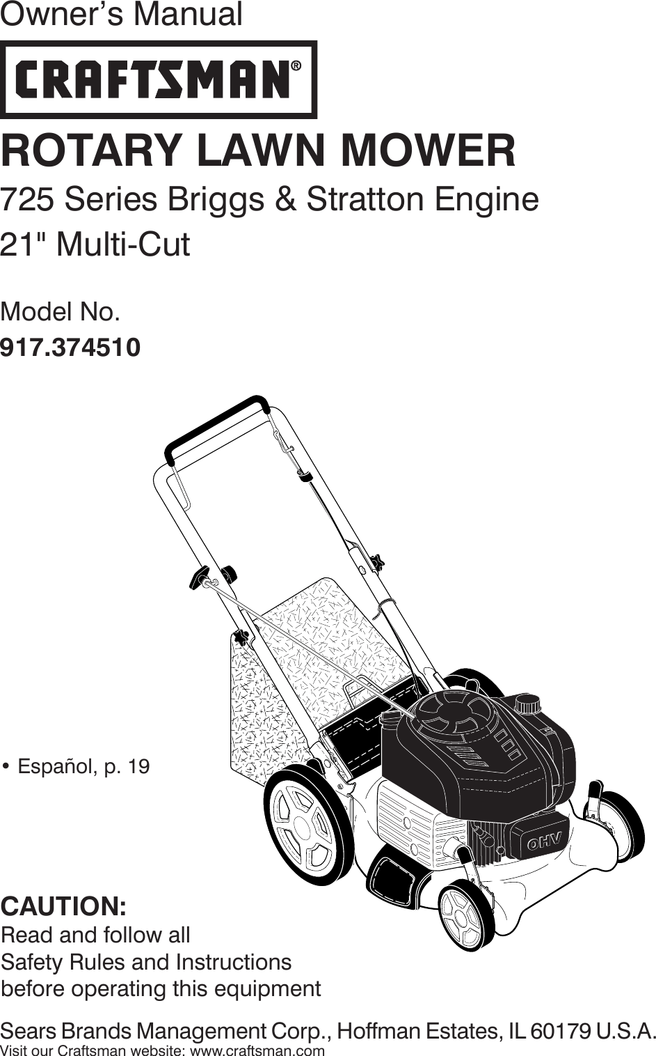 Craftsman 917374510 374510 es 579786102_r2 User Manual