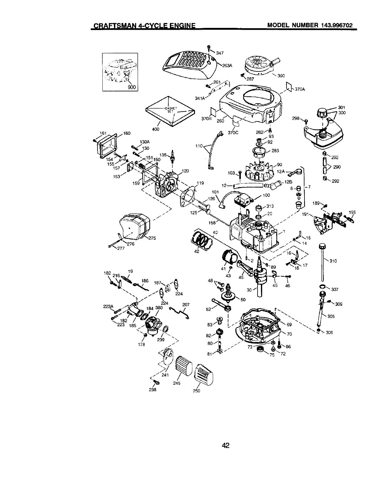 Craftsman 917377911 User Manual 6.75HP 21 ROTARY LAWN