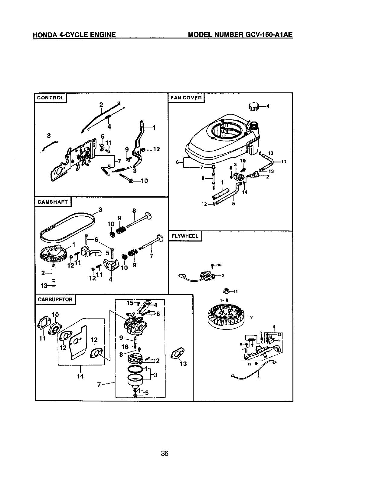 Craftsman 917388800 User Manual Gas, Walk Behind Lawnmower