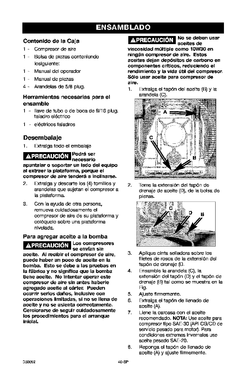 Craftsman 919167802 User Manual AIR COMPRESSOR Manuals And