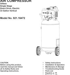 craftsman 92116472 2012 user manual air compressor manuals and guides 1310372l [ 1031 x 1534 Pixel ]