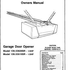 Craftsman Garage Door Opener Yellow Light On Sensor 1999 Mustang Gt Radio Wiring Diagram Troubleshooting Safety
