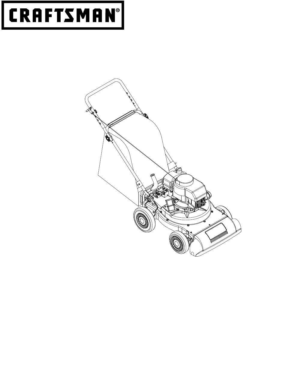 Craftsman 247 77011 Operators Manual 770 10233j