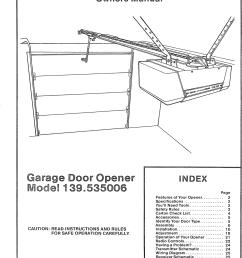 sear garage door opener wiring diagram [ 1127 x 1561 Pixel ]