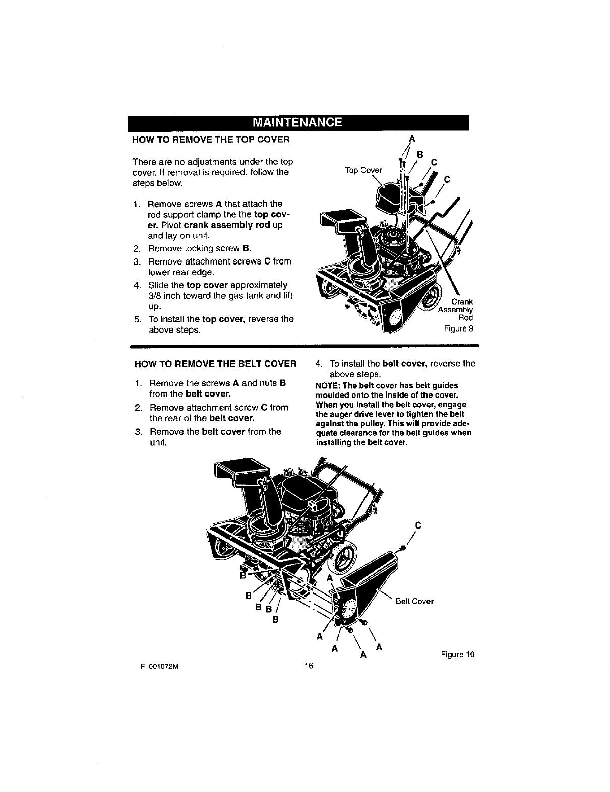 Craftsman 536 8852 Users Manual
