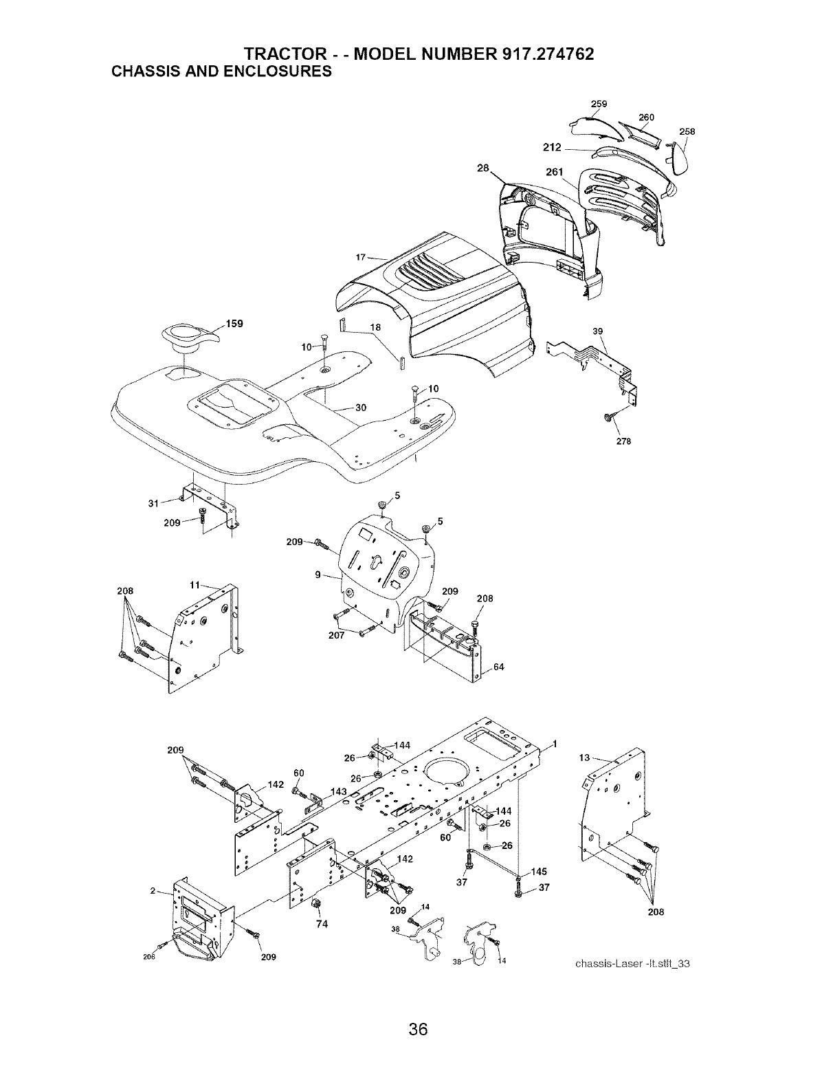 Craftsman 917 274762 Users Manual