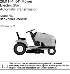 wiring diagram for craftsman 917 276922 riding lawn mower wiring wiring diagram craftsman 917 287480 [ 931 x 1501 Pixel ]