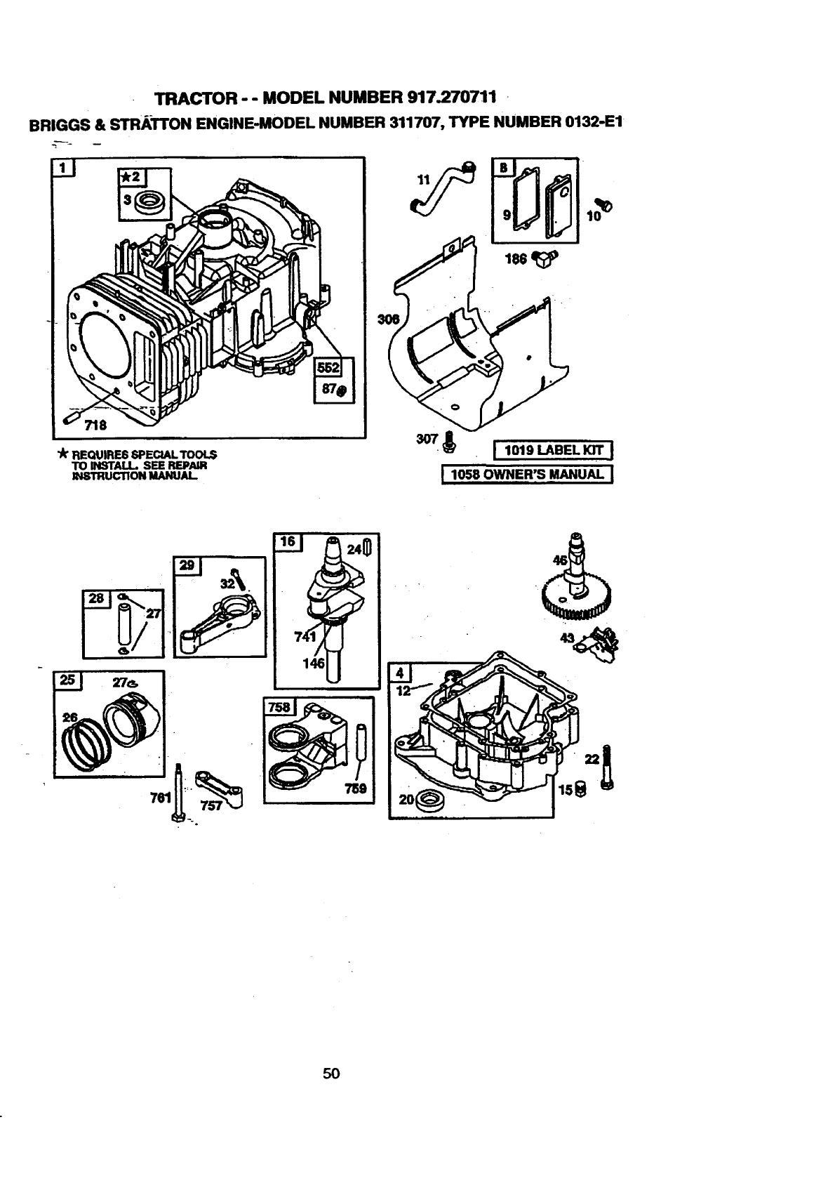 Craftsman Ez3 917 270711 Users Manual