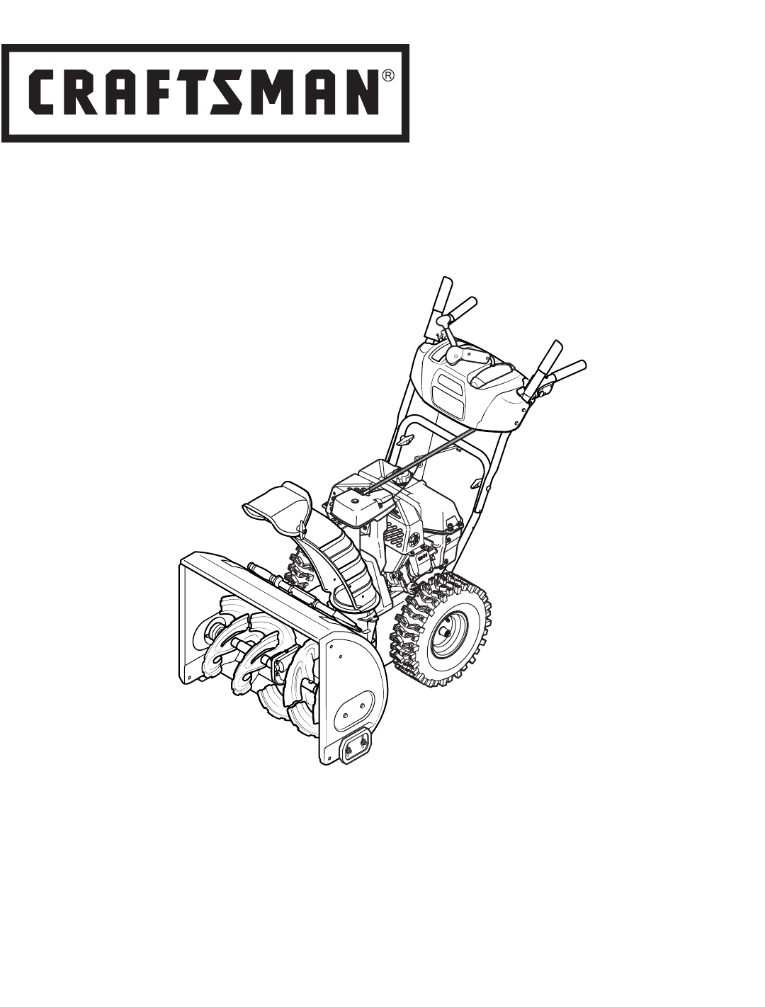 Craftsman Quiet 208Cc Dual Stage Snowblower Owners Manual