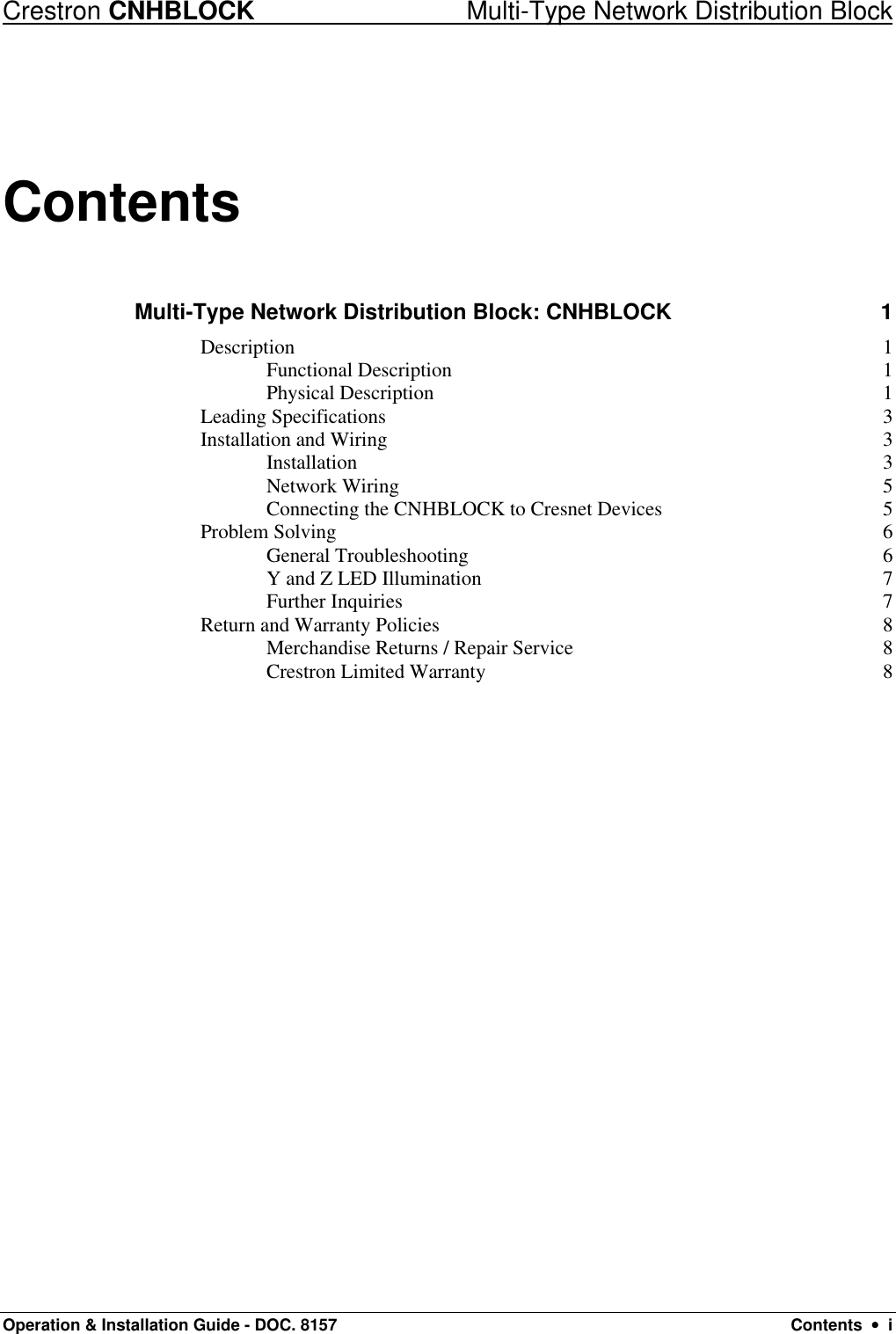 hight resolution of page 2 of 12 crestron electronic crestron electronic network distribution