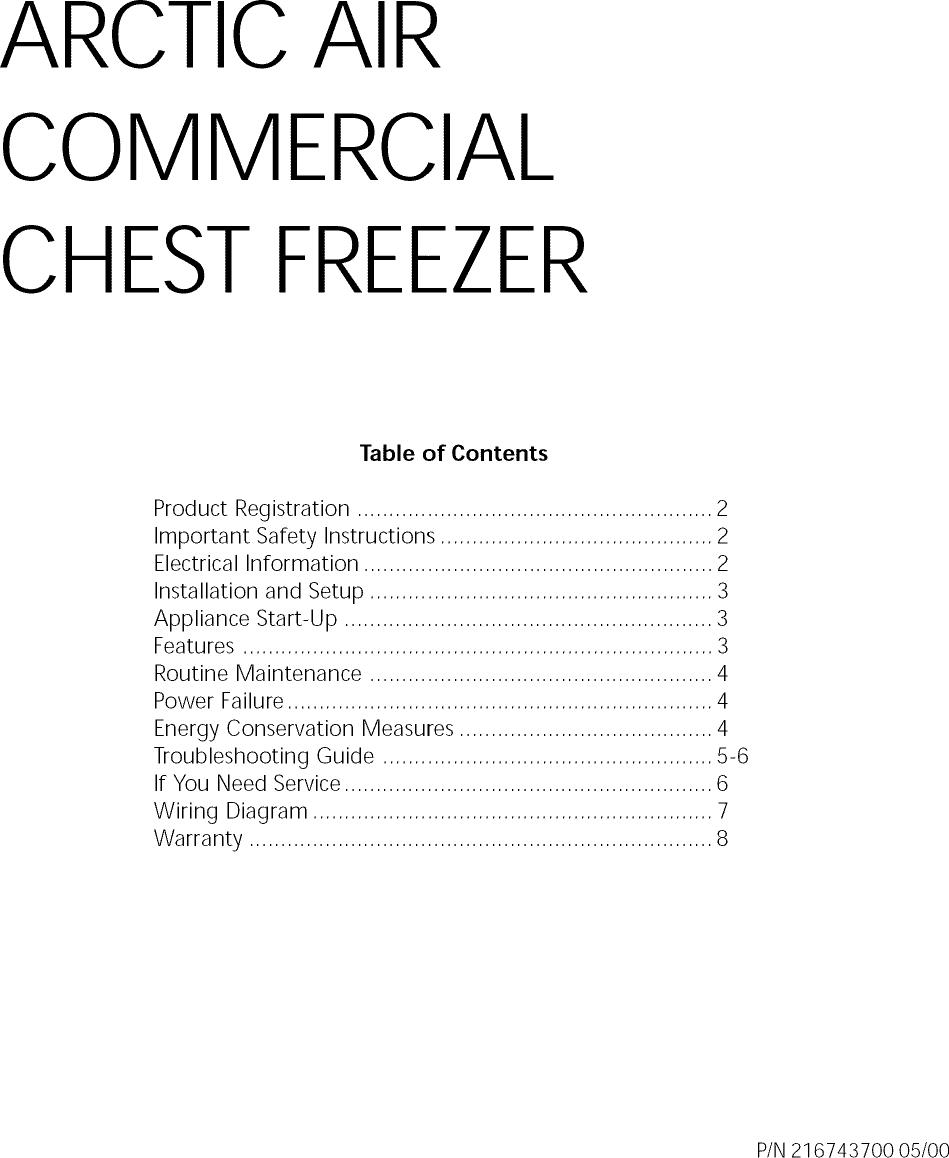 medium resolution of crosley cf057 user manual freezer manuals and guides l0812298