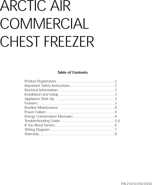small resolution of crosley cf057 user manual freezer manuals and guides l0812298