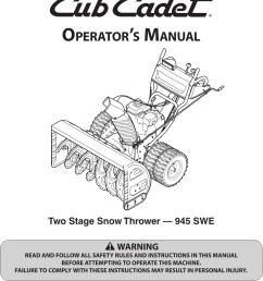cub cadet snow blower schematic [ 1050 x 1446 Pixel ]