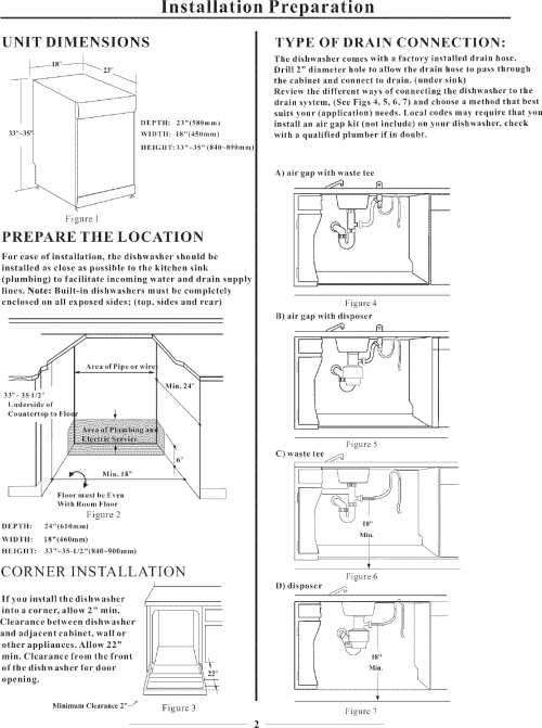 small resolution of page 4 of 11 danby dishwasher manual l0712170