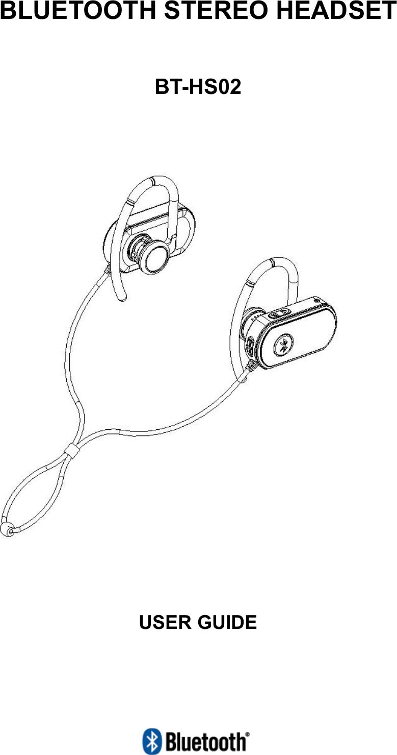 DIOSTECH BT-HS02 Bluetooth Stereo Headset User Manual