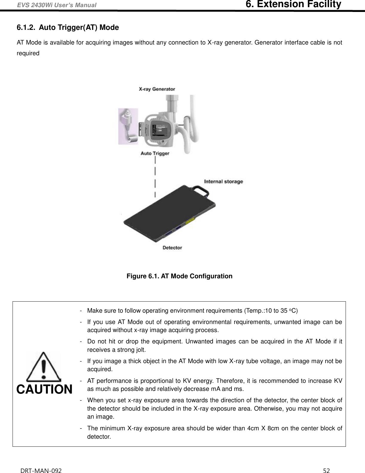 Drtech Evs Wi Flat Panel Digital X Ray Detector User Manual