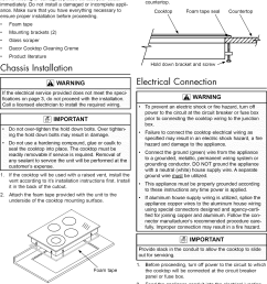 page 8 of 12 dacor ett3041b user manual cooktop manuals and guides 1102291l [ 1137 x 1585 Pixel ]
