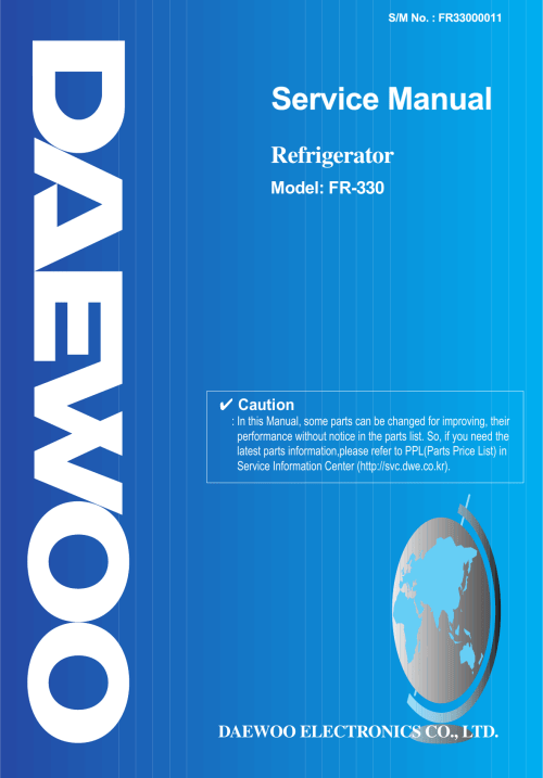 small resolution of daewoo refrigerator wiring diagram