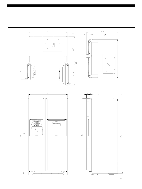 Daewoo Electronics Frs20 Users Manual FRS 20 Fridge