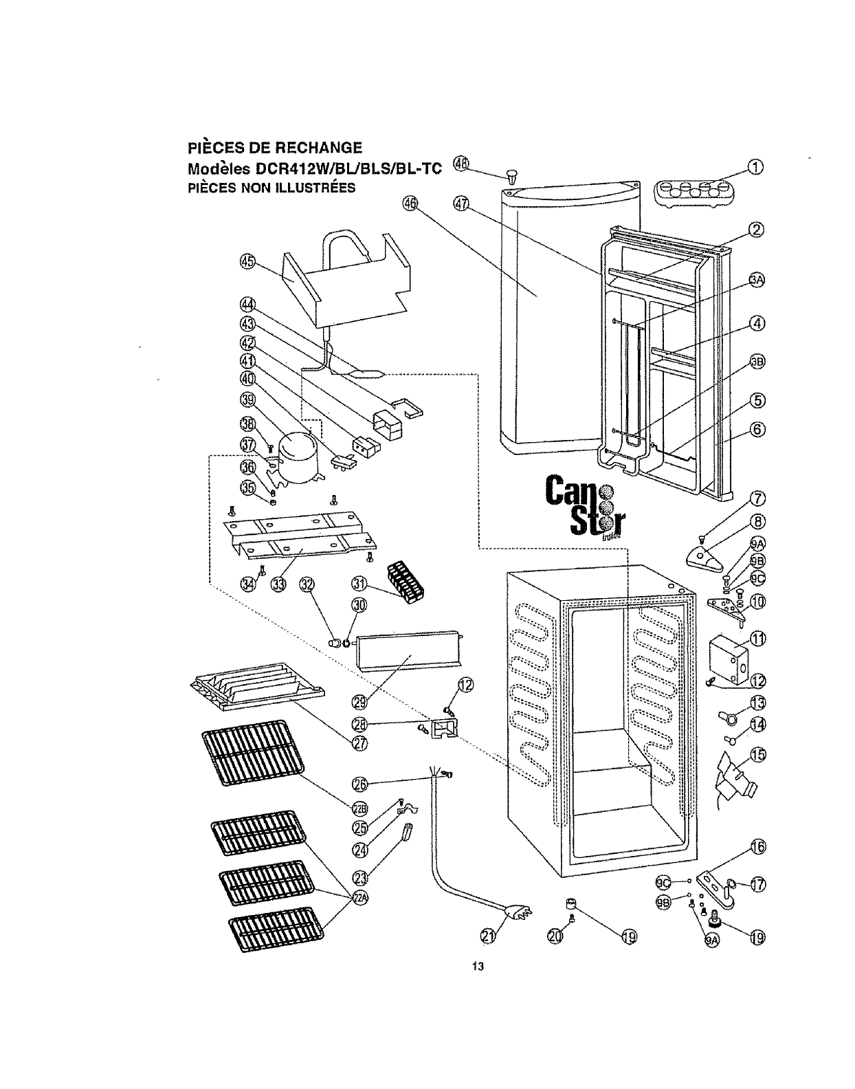 Danby DCR412BL User Manual REFRIGERATOR Manuals And Guides