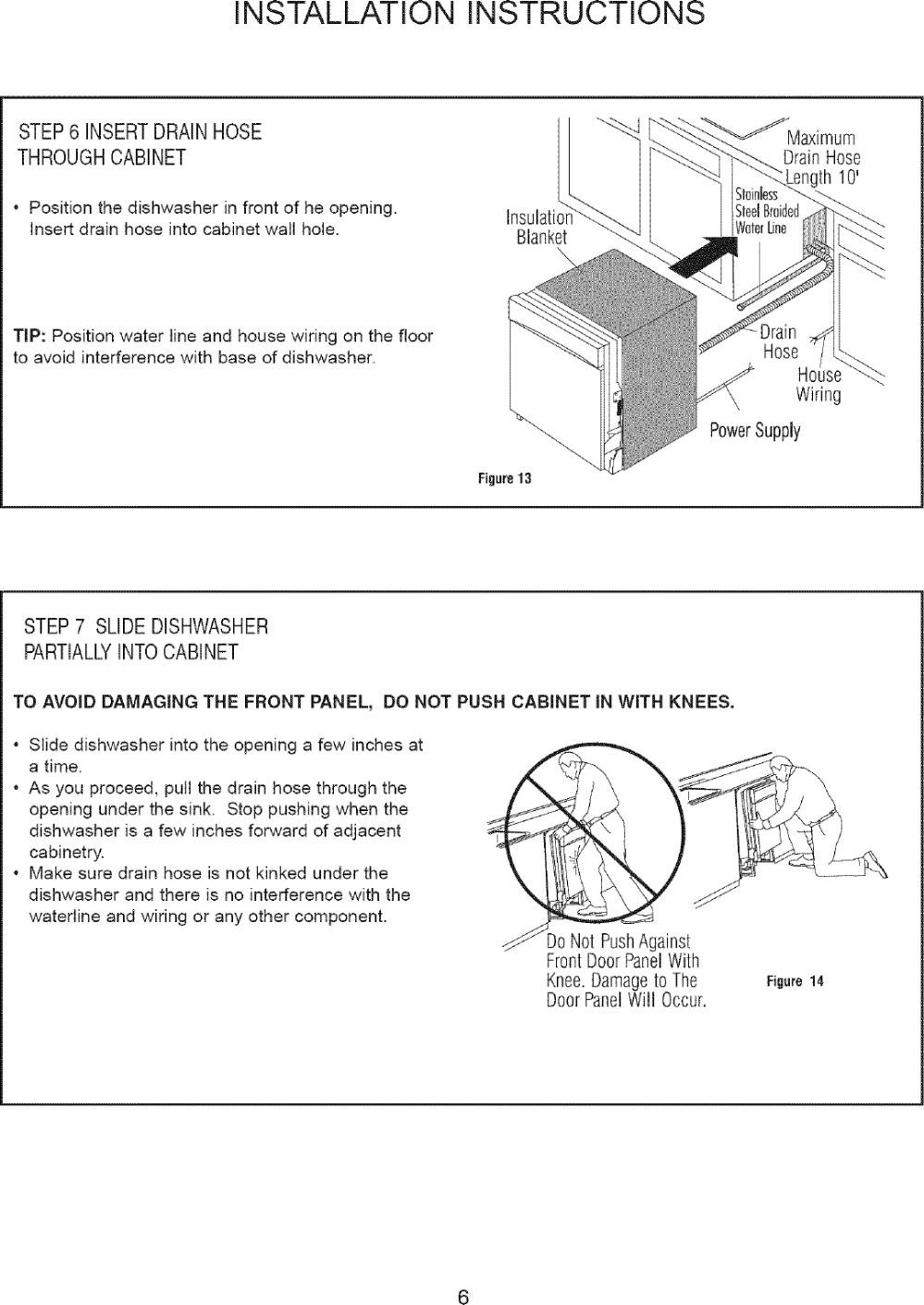 medium resolution of page 7 of 12 danby ddw2405w user manual dishwasher manuals and guides l0712172