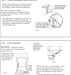 page 8 of 12 danby ddw2405w user manual dishwasher manuals and guides l0712172 [ 1100 x 1526 Pixel ]