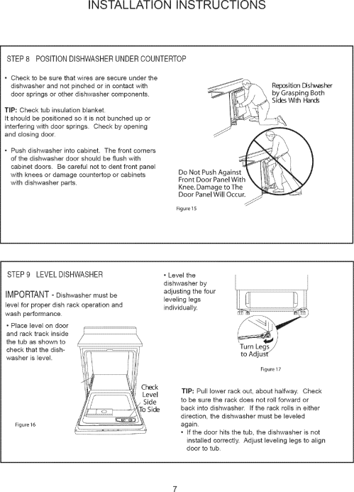 small resolution of page 8 of 12 danby ddw2405w user manual dishwasher manuals and guides l0712172