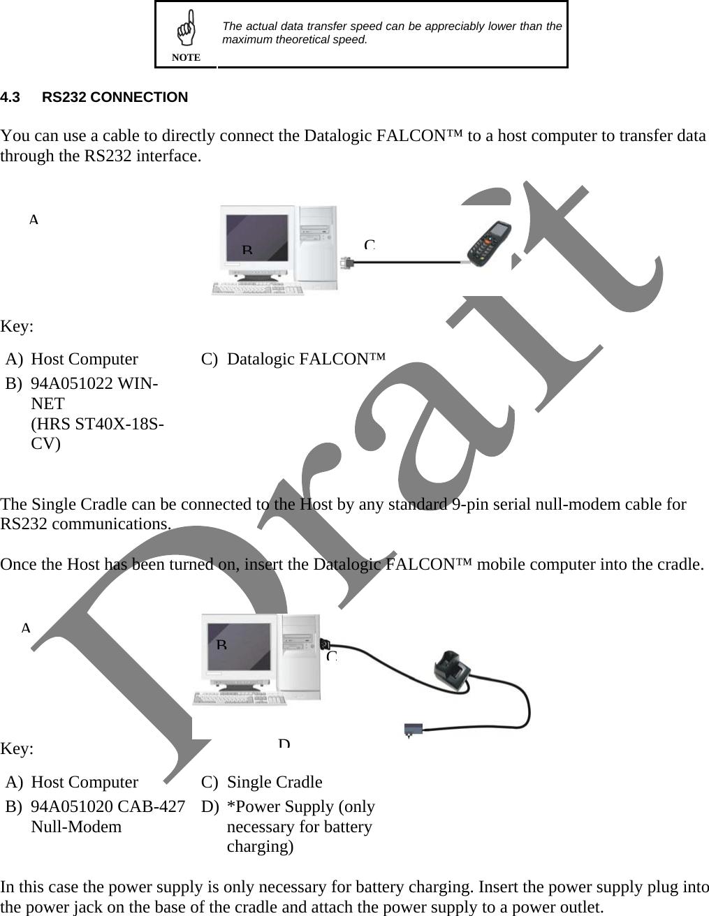 Datalogic ADC FALX3 Falcon X3 User Manual