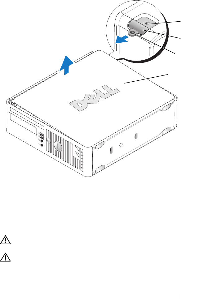 Dell Optiplex 740 Quick Reference Guide