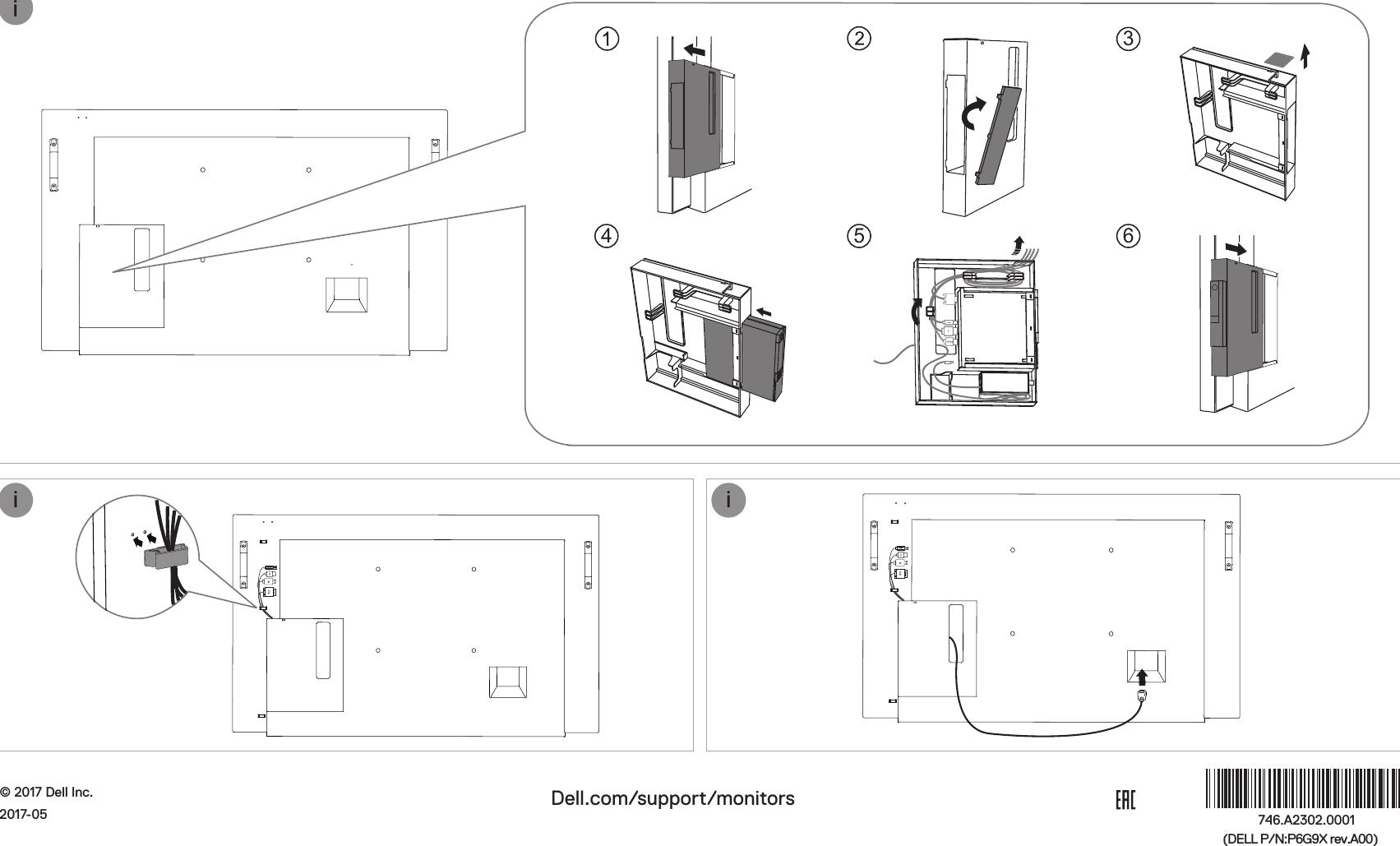 Dell c5518qt monitor Quick Setup Guide User Manual En us