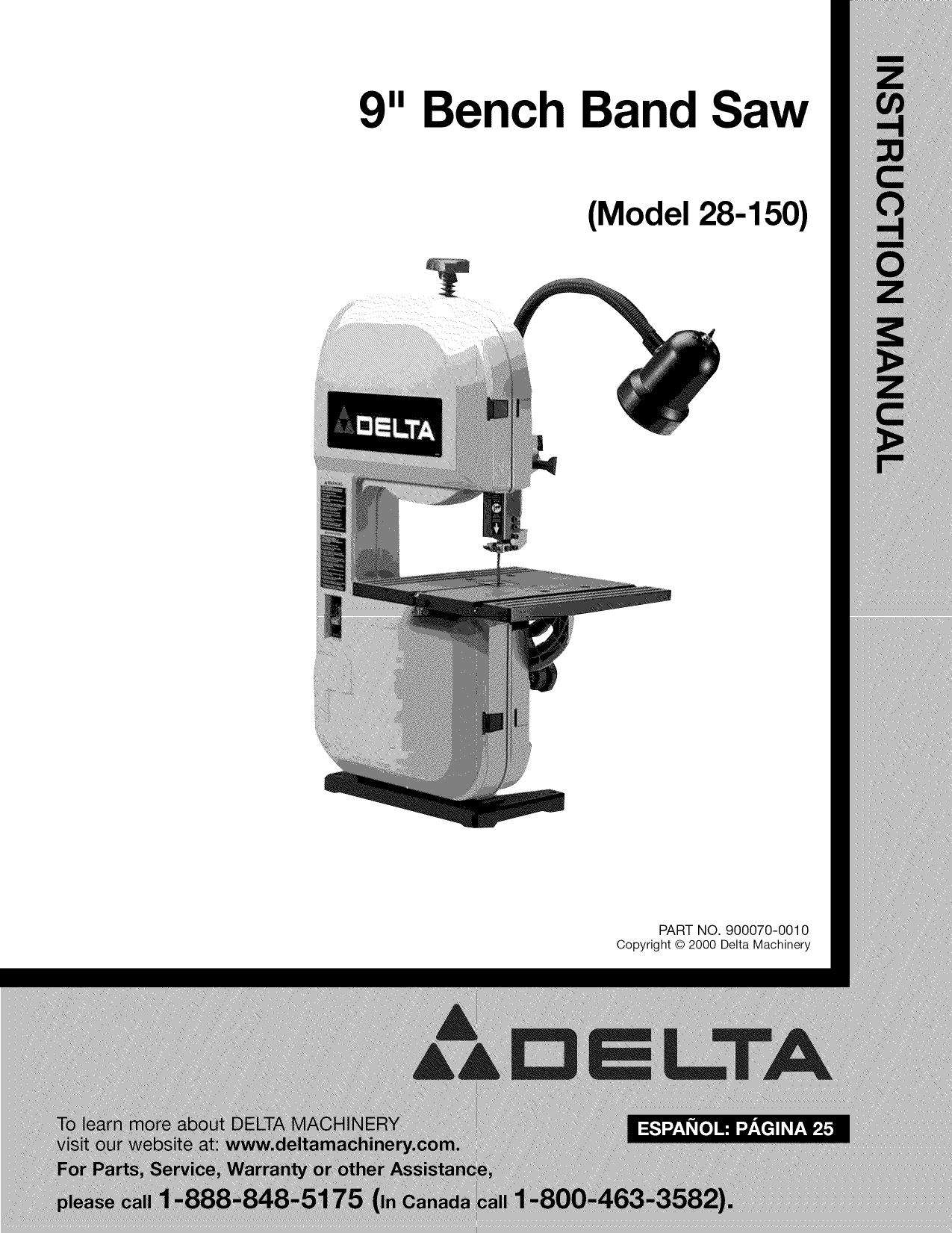 Delta Tool Parts Canada