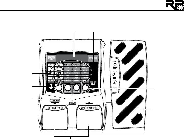 Digitech Rp255 Owner S Manual