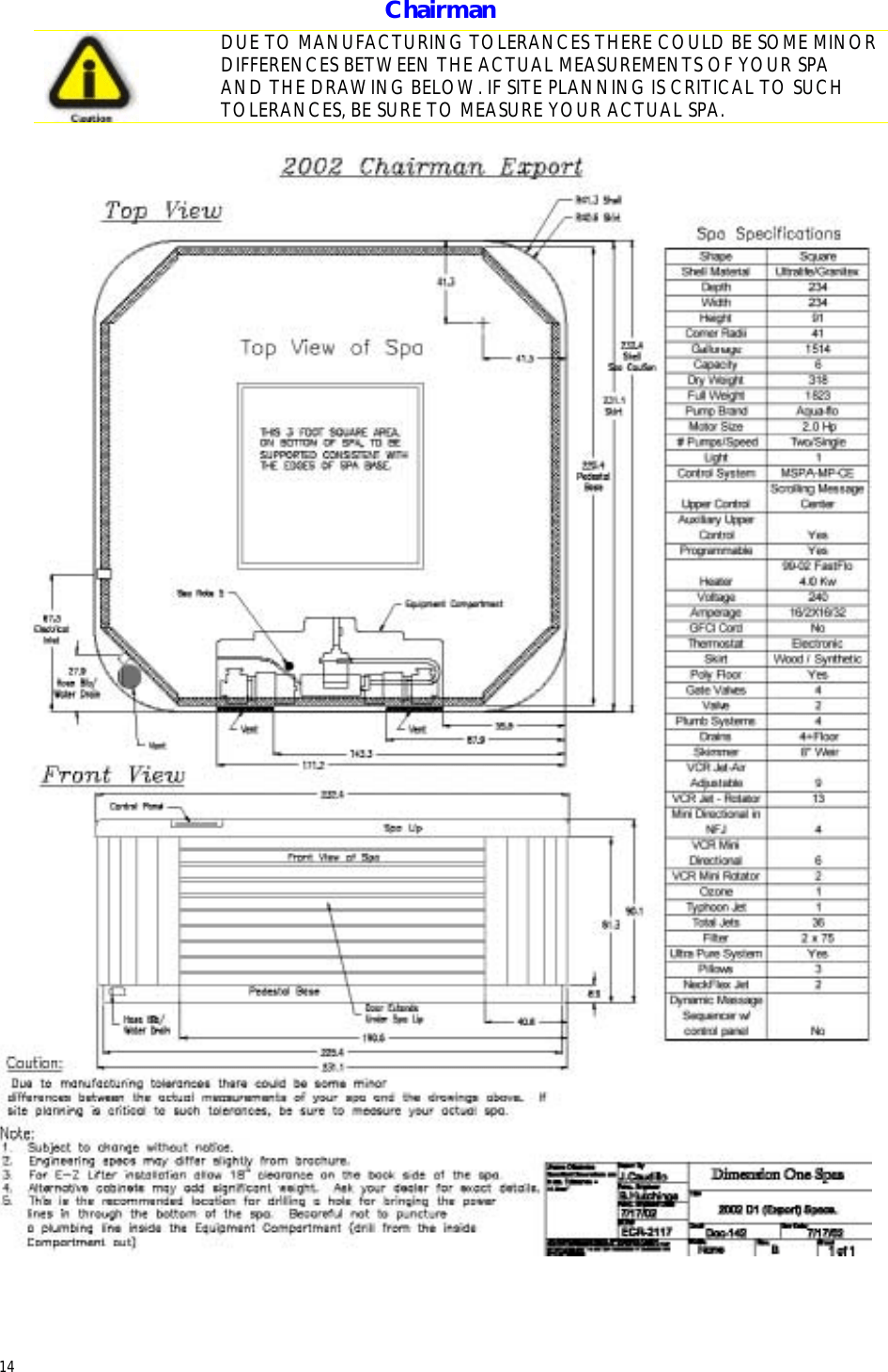 medium resolution of dimension one spas home hot tubs users manual d1 home export planning guide install