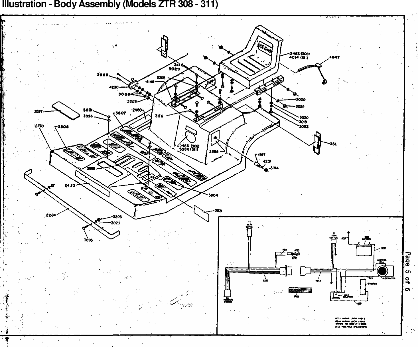 Dixon Ztr 3Ii Users Manual OM, 308, 311, 1985, ZERO TURN