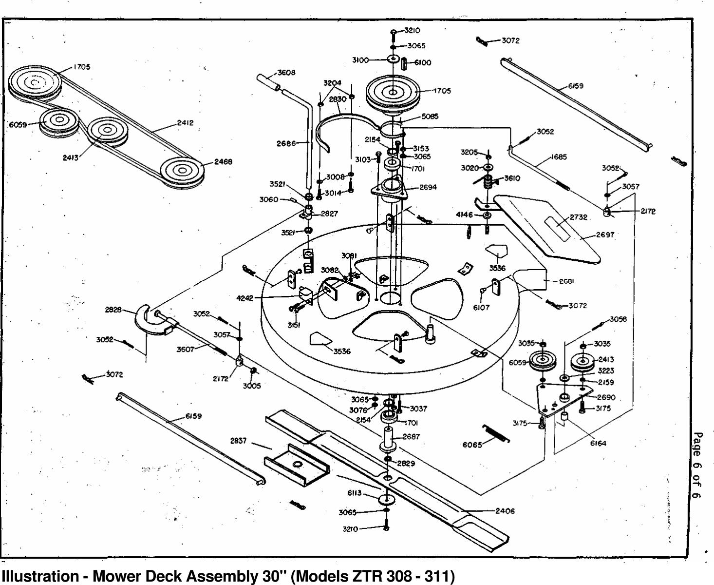 Dixon Ztr 3Ii Users Manual OM, 308, 311, 1985, ZERO TURN