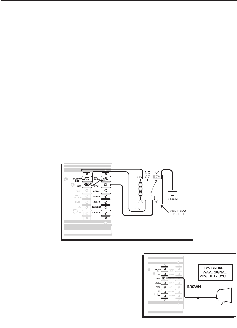 MSD 7230 Ignition Kit Installation Instructions 121