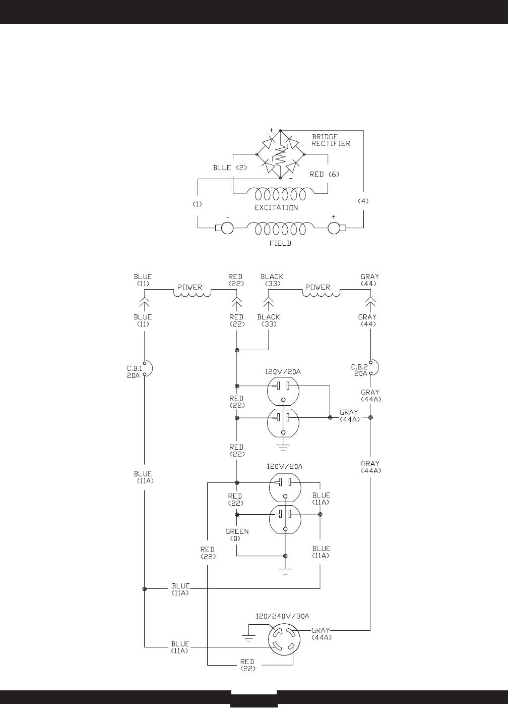 Generac Generator Wiring Diagram / Generac 9091 0 Generac